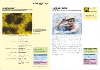 Dokumentation Filmfestival Locarno von Frenetic Films